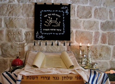 In de kerk van ds. Ben Zvi